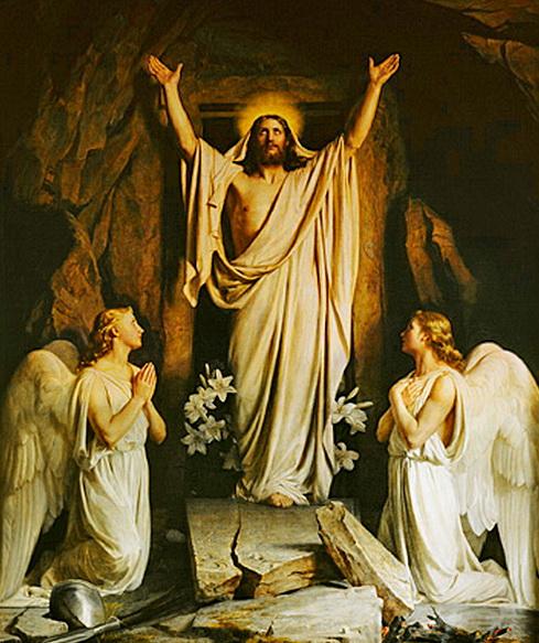 Yesus bangkit dari alam maut