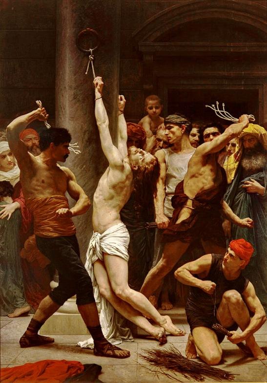 Yesus di dera dan disiksa